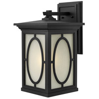 Hinkley Lighting Randolph 1 Light LED Outdoor Wall in Black 1495BK-LED photo thumbnail