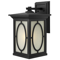 Hinkley 1495BK Randolph 1 Light 20 inch Black Outdoor Wall Mount in Incandescent