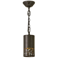 Hinkley 1512BZ Calder LED 4 inch Bronze Outdoor Pendant
