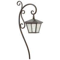 Hinkley Lighting Trellis Path 1 Light Landscape in Regency Bronze 1515RB
