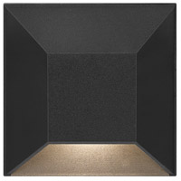 Hinkley 15222BK Nuvi 12V 1.20 watt Black Landscape Deck And Patio Light Brick & Step