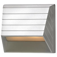 Hinkley 1524MW-LED Signature 12V 1.5 watt Matte White Landscape Deck in LED, Square Sconce