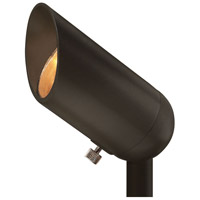 Hinkley 1536BZ-3W27K Signature 12 3 watt Bronze Landscape Accent Spot in 2700K, LED, 3W, Lumacore
