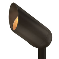 Hinkley Lighting Signature 1 Light LED Landscape Spot Accent in Bronze 1536BZ-LED30