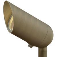 Hinkley 1536MZ-8W27K Hardy Island 12 7.5 watt Matte Bronze Landscape Accent Spot in 2700K LED 8W Lumacore
