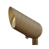 Hinkley Lighting Hardy Island 7.5W 2700K 60-Degree Flood LED Landscape Accent Spot in Matte Bronze 1536MZ-8W27FL
