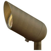 Hinkley Lighting Signature 1 Light 50W Equiv 8W Flood LED Landscape Flood Accent in Matte Bronze 1536MZ-8WLEDFL
