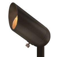 Hinkley 1536BZ-8W27MD Signature 12V 7.5 watt Bronze Landscape Accent Spot in 7.5W, Medium, 2700K, 7.5W 2700K 40-Degree Medium