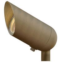Hinkley 1536MZ-12W3K Hardy Island Lumacore 12V 12.00 watt Matte Bronze Landscape Accent Spot Light in 3000K 12W