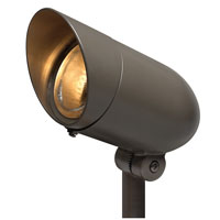 Hinkley Lighting Signature 1 Light Low Volt Landscape Spot Accent in Bronze 1537BZ photo thumbnail