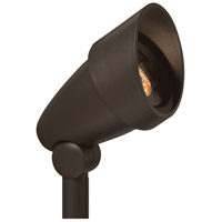 Hinkley Lighting Signature 1 Light Low Volt 50W MR16 Composite Landscape Spot Accent in Bronze 1538BZ