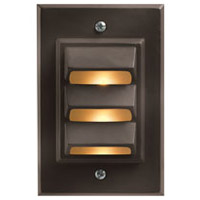 Hinkley Lighting Vertical 1 Light LED Deck in Bronze 1542BZ-LED