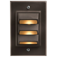 Hinkley 1542BZ Signature 12V 12 watt Bronze Landscape Deck in Incandescent, Vertical