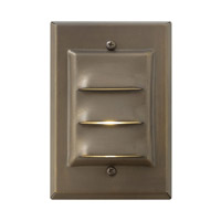 Hinkley Lighting LED Deck 1 Light LED Landscape in Matte Bronze 1542MZ-LED