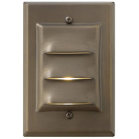 Hinkley Lighting Outdoor Low Volt 1 Light Landscape Deck in Matte Bronze 1542MZ