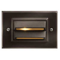 Hinkley 1546BZ-LED Signature 12V 1.5 watt Bronze Landscape Deck in LED, Horizontal