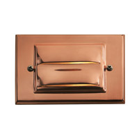 Hinkley Lighting Horizontal 1 Light LED Deck in Copper 1546CO-LED