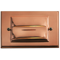 Hinkley Lighting Outdoor Low Volt 1 Light Landscape Deck in Copper 1546CO