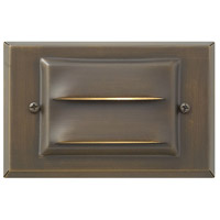Hinkley 1546MZ Hardy Island 12V 12 watt Matte Bronze Deck in Incandescent, Horizontal