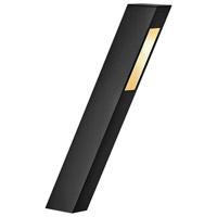 Hinkley 1548SK-LED Piza 12V 3.80 watt Satin Black Landscape Path Light