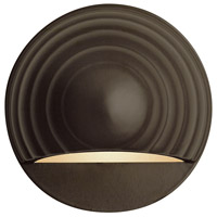 Signature 12V 7 watt Bronze Deck in Incandescent, Low Volt, Round Eyebrow