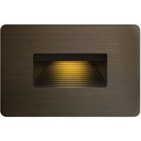 Hinkley 15508MZ Luna 12V 3.80 watt Matte Bronze Landscape Deck Light