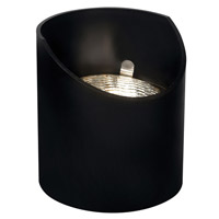 Hinkley Lighting Signature 1 Light Low Volt Reversible PAR36 Well Light in Black 1559BK