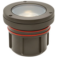 Hinkley 15702BZ-8W3K Signature 12 7.5 watt Bronze Landscape Well Light in 3000K LED 8W Flat Top