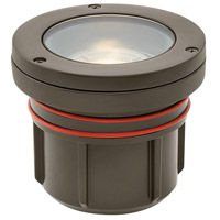 Signature 12 9 watt Bronze Landscape Well Light, Flat Top
