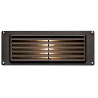 Hinkley 1594BZ-LED Signature 12V 3.8 watt Bronze Landscape Deck in LED Louvered