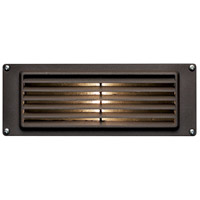 Hinkley 1594BZ Signature 12V 12 watt Bronze Landscape Deck in Incandescent, Louvered