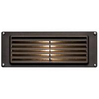 Hinkley 1594BZ Louvered 12V 12.00 watt Bronze Landscape Deck Light in T5