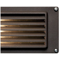 Hinkley 1594BZ Signature 12V 12 watt Bronze Landscape Deck in Incandescent, Louvered alternative photo thumbnail