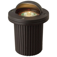 Signature 12V 50 watt Bronze Well Light, Low Volt, Shielded 50W MR6