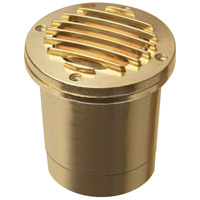 Hinkley Lighting Outdoor Low Volt 1 Light Landscape Well in Brass 1599BS