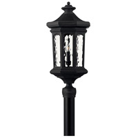 Hinkley 1601MB Raley 4 Light 26 inch Museum Black Outdoor Post Mount in Candelabra, Post Sold Separately