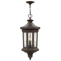Hinkley 1602OZ-LL Raley LED 12 inch Oil Rubbed Bronze Outdoor Hanging Light in Clear Seedy