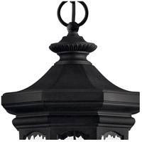 Hinkley 1602MB Raley 4 Light 12 inch Museum Black Outdoor Hanging Light in Candelabra alternative photo thumbnail