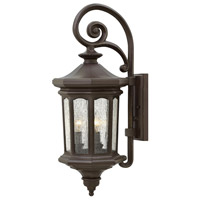 Hinkley 1604OZ-LL Raley LED 26 inch Oil Rubbed Bronze Outdoor Wall Mount in Clear Seedy