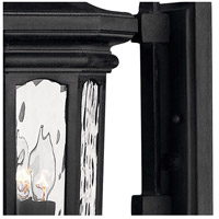 Hinkley 1604MB Raley 3 Light 26 inch Museum Black Outdoor Wall Mount in Candelabra alternative photo thumbnail