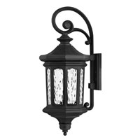 Hinkley Lighting Raley 1 Light Outdoor Wall Lantern in Museum Black 1605MB-EST photo thumbnail