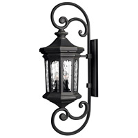 Hinkley 1609MB-LL Raley LED 42 inch Museum Black Outdoor Wall Mount in Clear Water