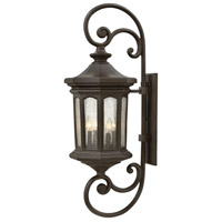 Hinkley 1609OZ-LL Raley LED 42 inch Oil Rubbed Bronze Outdoor Wall Mount in Clear Seedy, Extra Large