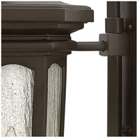 Hinkley 1609OZ Raley 4 Light 42 inch Oil Rubbed Bronze Outdoor Wall Mount, Clear Water Glass Panels alternative photo thumbnail