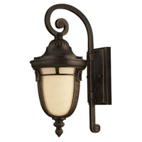 Hinkley Lighting Key West 1 Light GU24 CFL Outdoor Wall in Regency Bronze 1610RB-GU24 photo thumbnail
