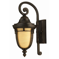 Hinkley Lighting Key West 1 Light Outdoor Wall Lantern in Regency Bronze 1610RB