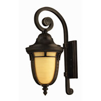 Hinkley Lighting Key West 1 Light Outdoor Wall Lantern in Regency Bronze 1614RB-ES