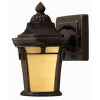 Hinkley Lighting Key West 1 Light Outdoor Wall Lantern in Regency Bronze 1616RB-ES