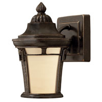 Hinkley Lighting Key West 1 Light GU24 CFL Outdoor Wall in Regency Bronze 1616RB-GU24 photo thumbnail