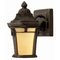 Hinkley Lighting Key West 1 Light Outdoor Wall Lantern in Regency Bronze 1616RB